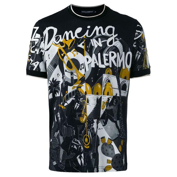 Dolce Gabbana Musical Tişört Siyah - 4 #Dolce Gabbana #DolceGabbanaMusical #Tişört