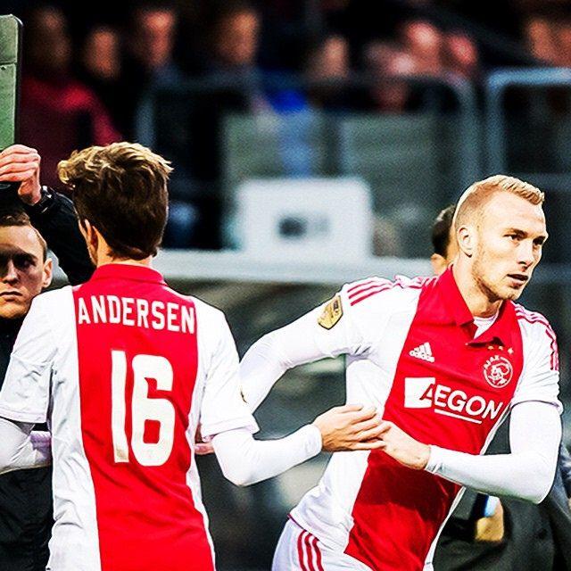 Lucas Andersen & Mike van der Hoorn #Ajax