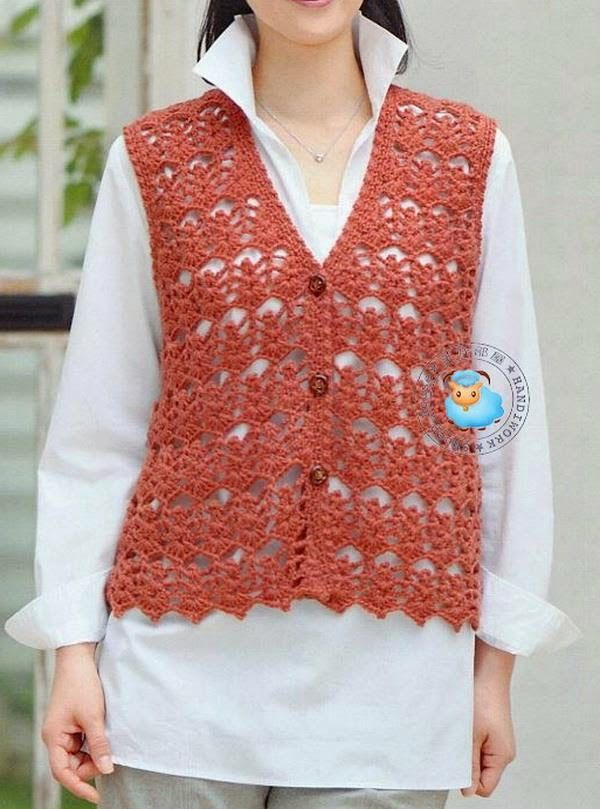 Crochet Sweater: Crochet Vest Patterns - Simple and Stylish