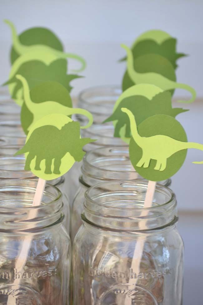 Boys Dinosaur Birthday Party Ideas - Spaceships and Laser Beams