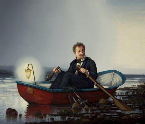 Alexander McKenzie: Andrew Upton :: Archibald Prize 2010 :: Art Gallery NSW
