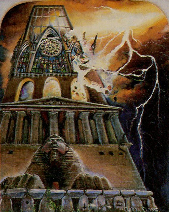 The Tower - Ancestral Path Tarot
