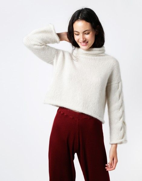 Lady Soul Sweater | Knit It woolandthegang.com
