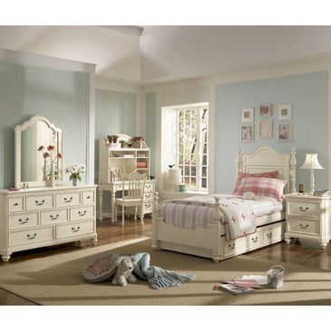 vintage small bedroom the retreat collection in antique white by lea offers 13746