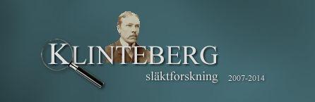 Släkten Klinteberg presenteras av tre släktforskare