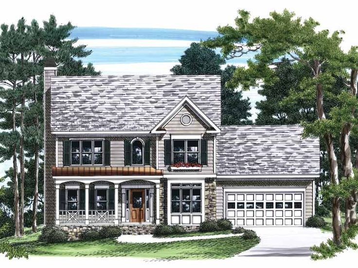 colonial garage plans 15 best images about small hp lots on house 11037