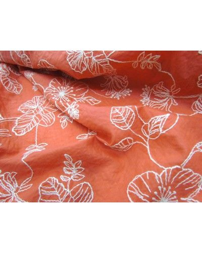 Manufacturer // Oriental Embroidered Cotton- Mandarin  - $9.95