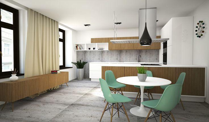 Aparment for sale - kitchen. Design by ARCADA