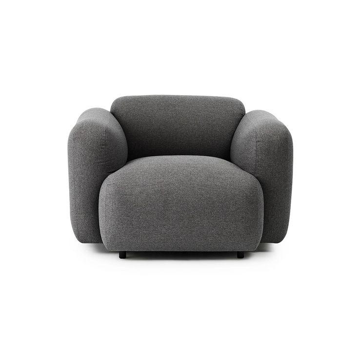 Swell Armchair Gabriel/Breeze Fusion Fabric - Jonas Wagell - Normann Copenhagen - RoyalDesign.com