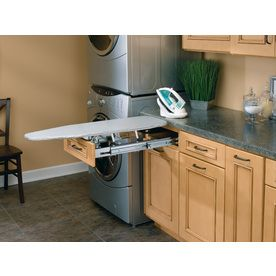 Rev-A-Shelf�Vanity Pull-Out Ironing Board $195.63 another option for the laundry room.