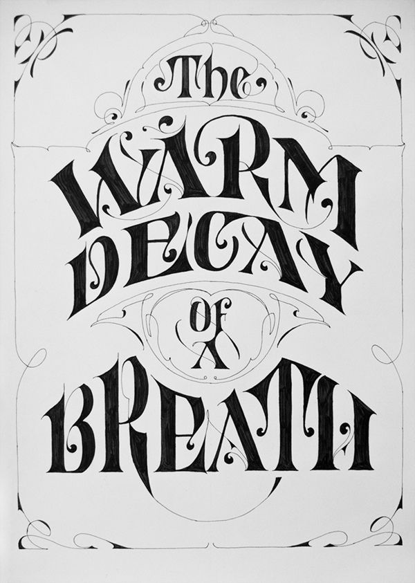 The Warm Decay Of A Breath