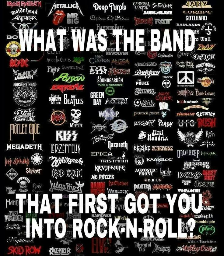 I have to admit, at first it was My Chemical Romance, but then I was fascinated by the Beatles.