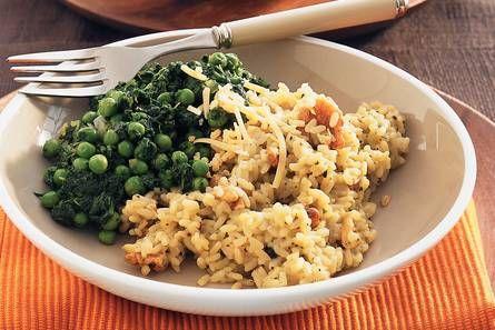 Pestorisotto met spinazie en walnoten - Recept - Allerhande - Albert Heijn