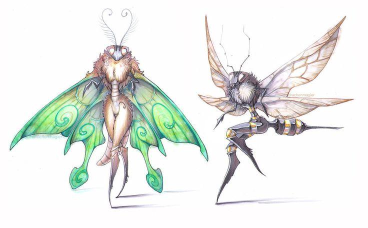 Bugs by drachenmagier on DeviantArt
