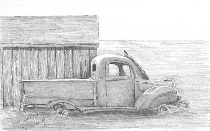 Pencil Drawings Of Trucks | Apache Server at www.graphitegoddess.com Port 80