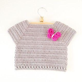 Crochet Toddler Shirt - Free pattern