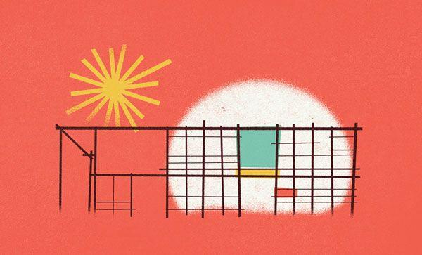 eames house interior - Google Search