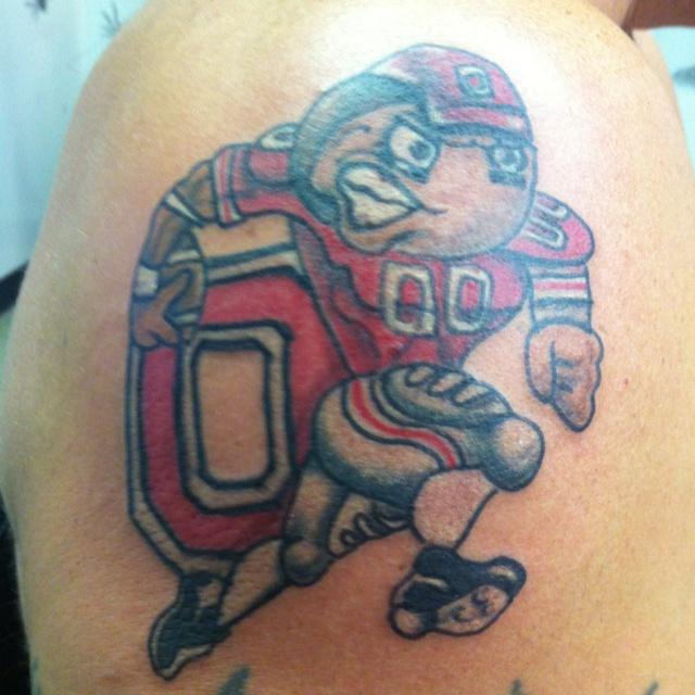 Ohio State Football Tattoos