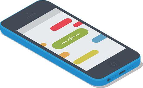Greife auf deine Mindmap von deinem Smartphone oder Tablet zu und lerne von unterwegs