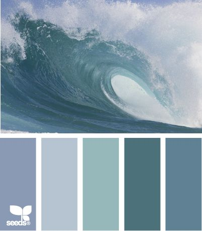 crashing tones............ I can almost hear the ocean in this palette!KL