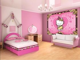 DECORATE YOUR ROOM NOW. WITH HELLO KITTY
