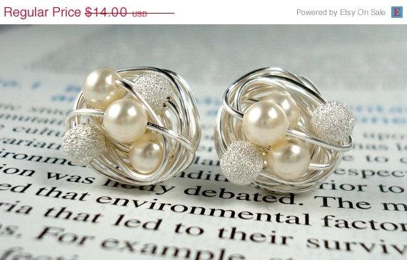 Pearls are my favorite. So elegant
