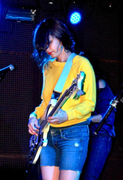 1000+ images about Female Bass Player: Jenny Lee Lindberg ...