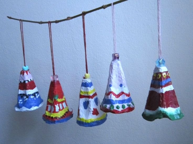 These are my favourite home made Christmas Tree decorations. They are fun to make and look very pretty. I just cut out some egg cartons, decorated them with acrylic paint, covered in Mod Podge and ...