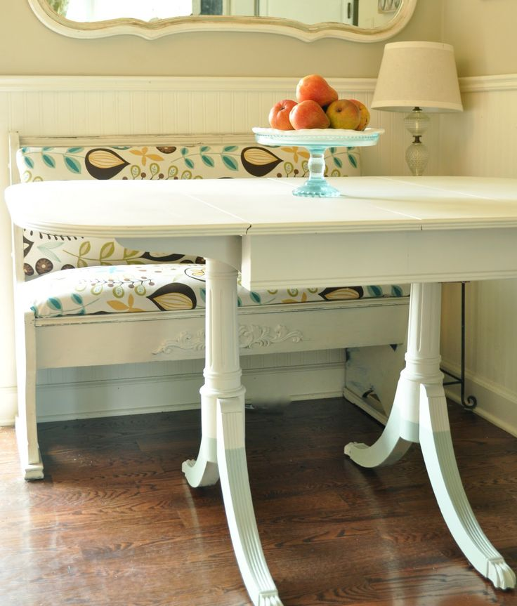 Dipped legs and church pew cottage chic pinterest