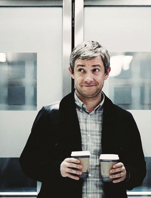 Coffee served by Martin Freeman. Every morning. In bed. This is my dream, so please don't wake me up.