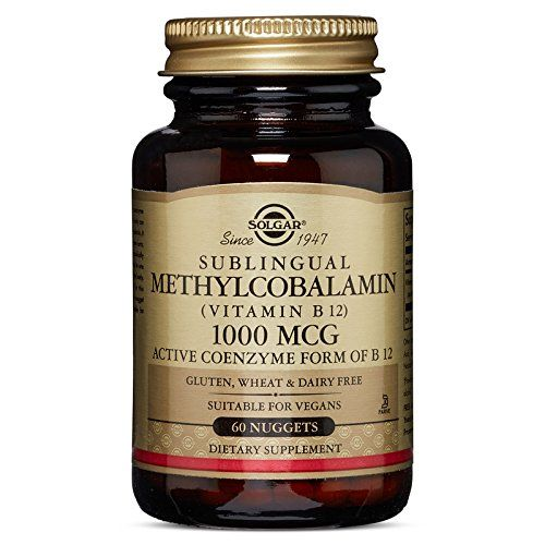 Solgar Methylcobalamin Vitamin B12 1000 mcg Nuggets 60 Count ** Click on the affiliate link Amazon.com on image for additional details.