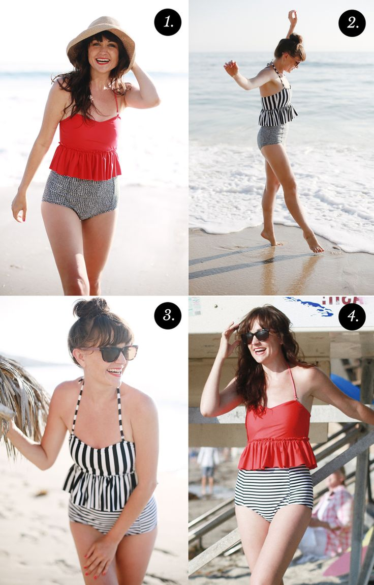 Secrets To A Swimsuit That Flatters Your Figure - Kortni Jeane Bathing Suits, Dean Street Society