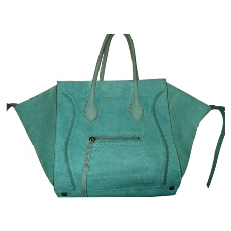 Green Luggage Phantom   CELINE   £990  Vestiaire Collective: WANT!