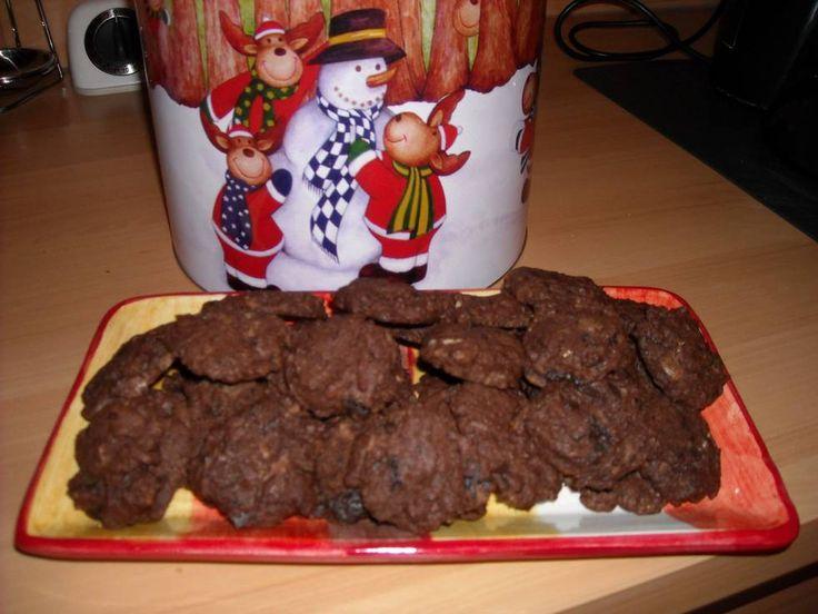 Zalige chocoladekoekjes en gemakkelijk te maken