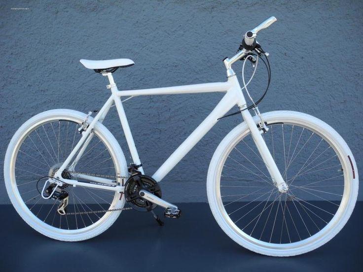 28  Alu Speed Bike Fitnessbike SHIMANO 21 Gang CROSS Fahrrad weiss