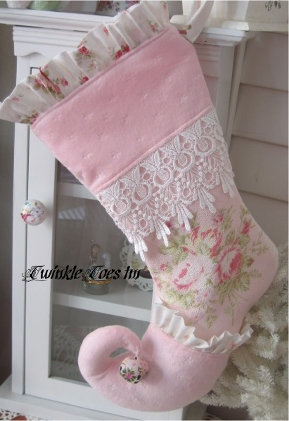 """Image detail for -... Toes""""tm Christmas Stockings, because its not all about pink..WHAT"""