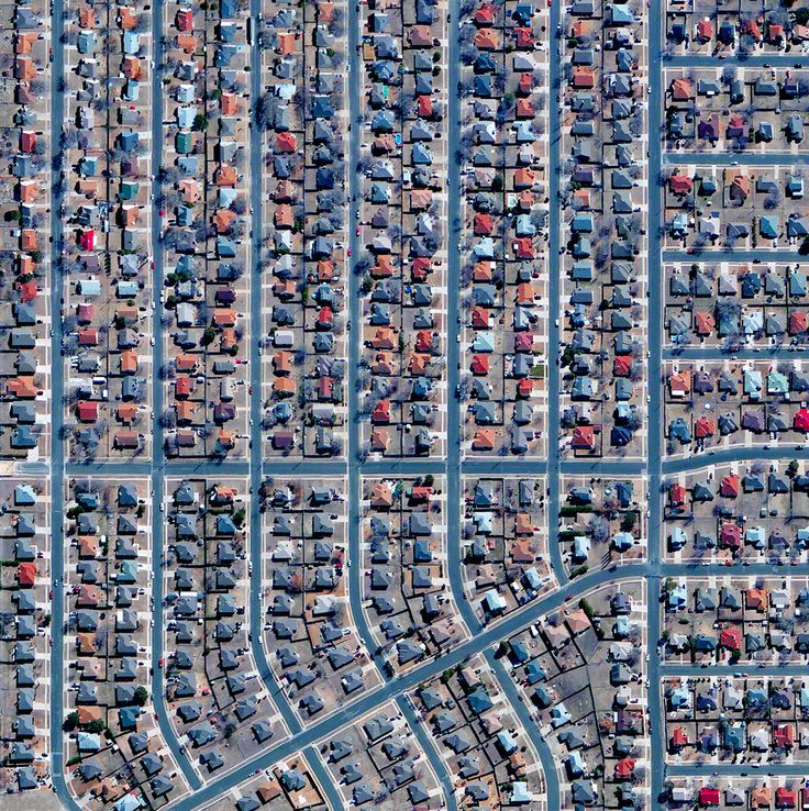 Civilization in Perspective: Capturing the World From Above,Killeen, Texas, USA…