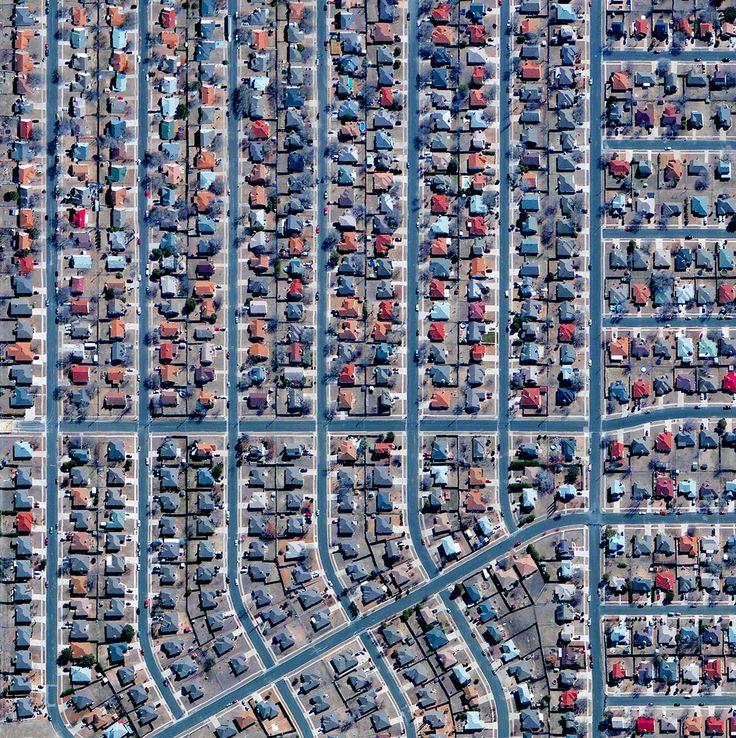 Civilização em perspectiva: O mundo visto de cima,Killeen, Texas, USA. Image Courtesy of Daily Overview. © Satellite images 2016, DigitalGlobe, Inc