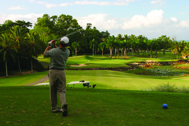 Golfing in Pardise in Cairns, Australia