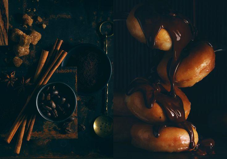 Coffee beans, cinnamon, brown sugar, donuts, and a chocolate drizzle | Jim Norton  #BackCatalogue #FUZEreps http://www.fuzereps.com/artists/jim-norton/RecentWork?utm_content=buffer3c769&utm_medium=social&utm_source=pinterest.com&utm_campaign=buffer