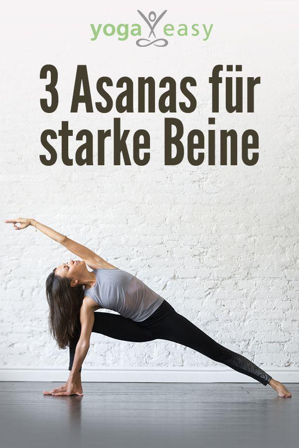3 Asanas für starke Beine – YogaEasy