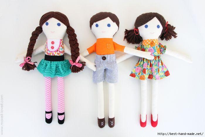 Mimin Dolls: tutorial - da make it and love it