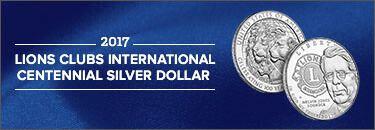 Lions Clubs International 2017 Centennial Silver Dollar