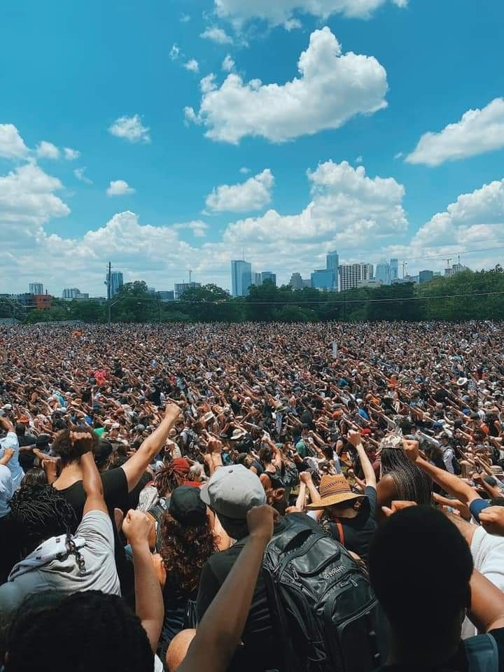 Black Austin Rally Black Lives Matter Protest Black Lives Matter Movement Power To The People