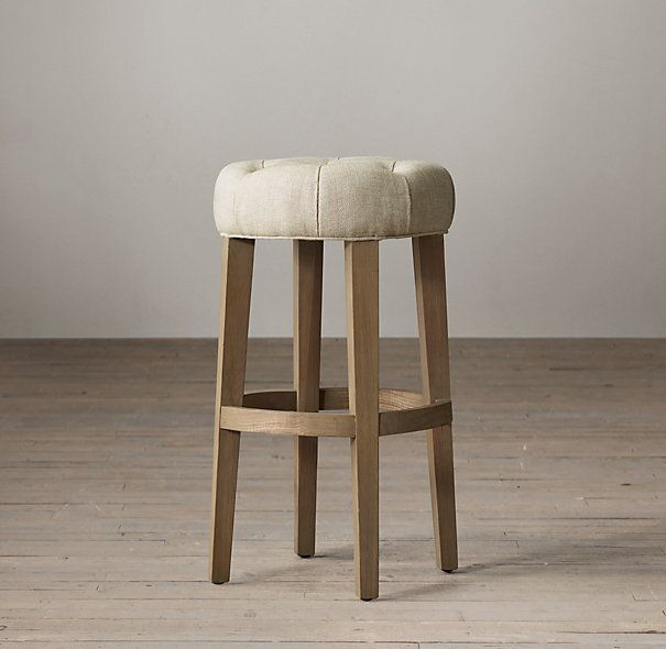 Inspirational Upholstered Stools for Kitchen