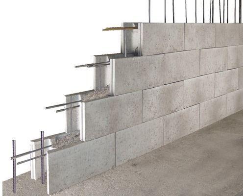 Betonpflasterstein Grau 50x25x17 5cm In 2020 Schalung