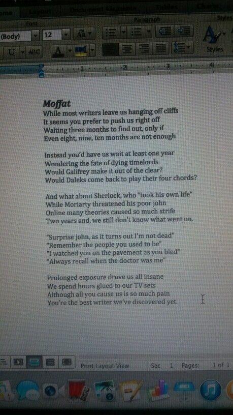 Poetry help! please?!!?