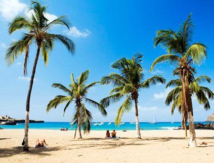 Kap Verdes stränder