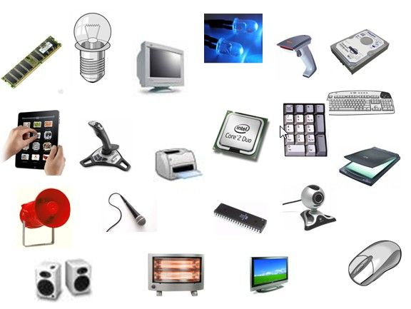 What are input and output devices?