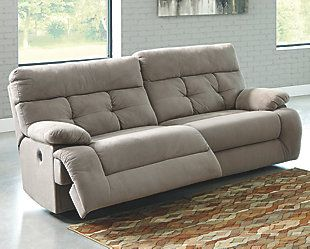 Overly Power Reclining Sofa by Ashley HomeStore Gray Polyester %) & Best 25+ Reclining sofa ideas on Pinterest | Recliners Power ... islam-shia.org